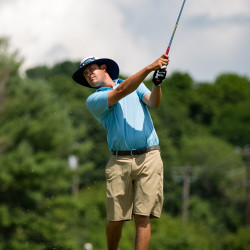 Chung beats Van Sickle on fourth playoff hole to win Greater Bangor Open in record-setting effort