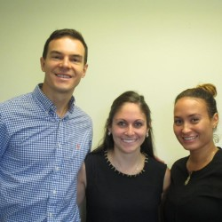 General Practice Dental Residents Michael Cabral, DMD, Stephanie Pouzol, DMD, and Alexis MacKenzie, DDS, Join PCHC Dental Center.