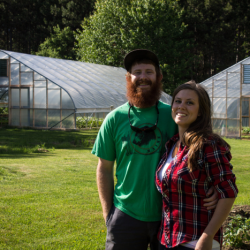 Dustin and Natasha Colbry of Spruce Mill Farm in Dover-Foxcroft