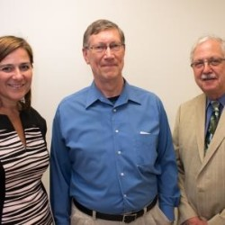 (left to right) Ms. Carin Sychterz, Ned Robertson, DMD, and Robert Allen, MD, have joined PCHC's Board of Directors.
