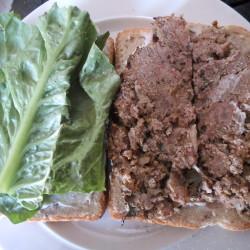 Vegetarian dish more than a fake meatloaf