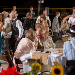 Tables can be reserved in advance for the 2015 Barnstormers Ball on August 27, 2016.