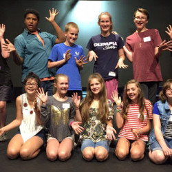 The 2016 Summer Training Program Young Actors