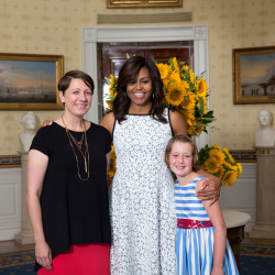 Waterville student Noah Koch honored at Kids' State Dinner July 9 at White House