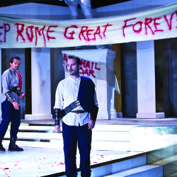 'Julius Caesar' to be staged under the stars