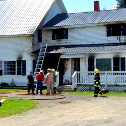 Firefighter injured, pets killed in Kennebunk home fire