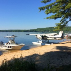 Officials continued to search Long Lake on Thursday for the body of a 19-year-old man.