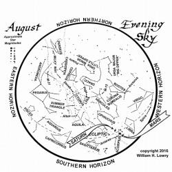 August 2016 Maine Skies