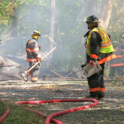 Fire destroys storage building on Mount Desert Island