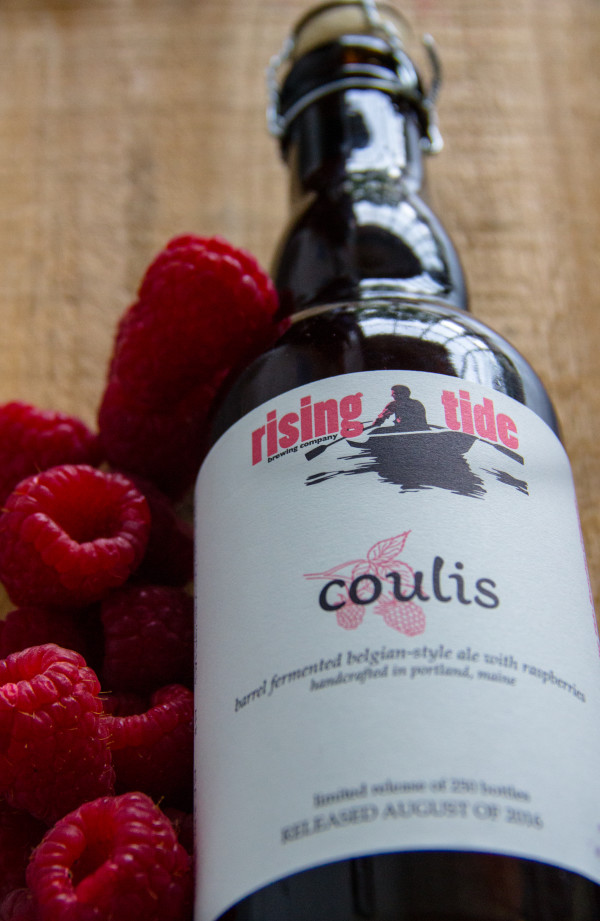 A new release from Rising Tide Brewing Co. in Portland is made with raspberries from Dole Orchards in Limington.