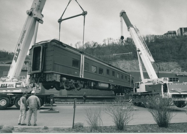 The Belford 99 railcar, which is now at a rail yard in Derby, was saved in Pittsburgh in 2000 but faces a far different fate if it isn't at least moved by Dec. 31.