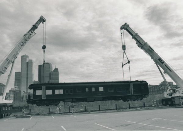 The Belford 99 railcar, which is at a rail yard in Derby, was saved in Pittsburgh in 2000 but faces a far different fate if it isn't at least moved by Dec. 31.