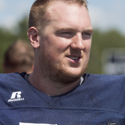 University of Maine football player Max Andrews.
