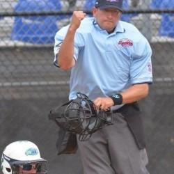 Maine Little League umpire Steve Schwartz.