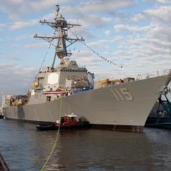 Defense chief to visit Bath shipyard Friday