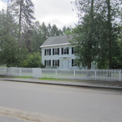 An attorney for Arline Pennell Lay, who owns this house at 28 College Street in Brunswick, said Wednesday that Bowdoin College has filed suit in order to force Lay, who has placed the house on the market for $1.3 million, to instead sell it to the college for a fraction of that amount.