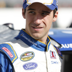 Fort Kent native Austin Theriault waits with his truck during a practice at New Hampshire Motor Speedway in a file photo.