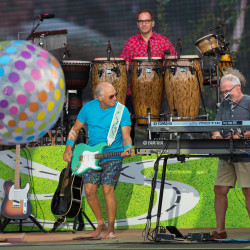 Jimmy Buffett plays a Thursday concert at the Darling's Waterfront Pavilion on the Bangor Waterfront.