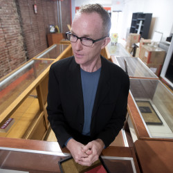Gerald Winters is setting up shop in downtown Bangor where he will display and sell rare books, manuscripts and letters from authors. He will call the shop Gerald Winters & Son.