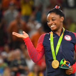 American gymnast Simone Biles has been chosen to carry the US flag during the Closing Ceremonies at the Rio 2016 Summer Olympic Games on Sunday.