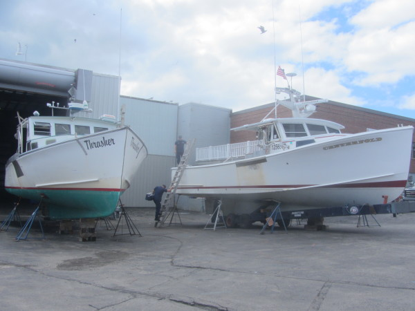 Two injured in lobster boat collision near Owls Head