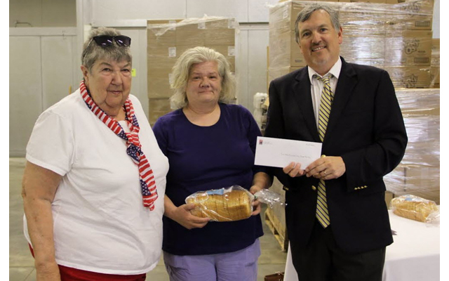 Ending Hunger Campaign disburses funds to food pantries statewide