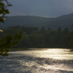 The East Branch of the Penobscot River runs through parts of the area of Elliotsville Plantation Inc.