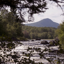 Dirt roads to Maine's monument intended for loggers, not visitors