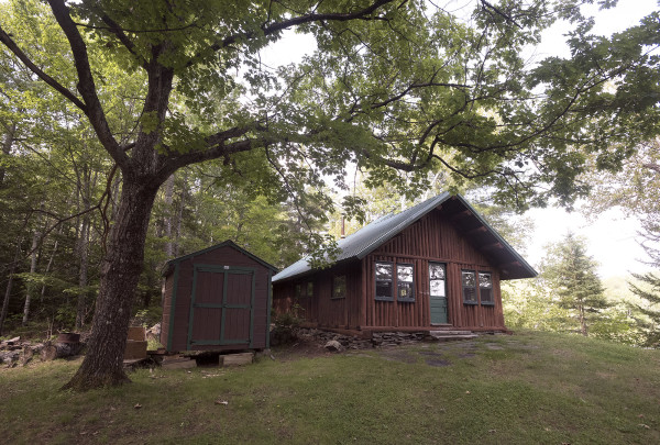 Haskell Hut near the East Branch of the Penobscot River. President Barack Obama designated roughly 87,000 acres of land East of Baxter State Park as the new Katahdin Woods and Waters National Monument on Wednesday morning.