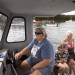 Pauline Miller (left), a teacher from Orrington, niece Alicia Talpey (center) and Miller's mother, Philippa Harvey, a retired schoolteacher, make their their way by boat to Norris Island in Frenchman Bay off Winter Harbor on Aug. 16. Norris Island has been owned by the family since the 1870s.