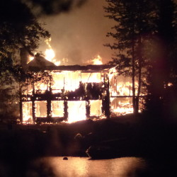 A house in Otis was destroyed in an early morning fire.