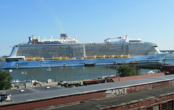 Largest Cruise Ship Of Season Docks In Portland Portland