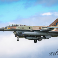 Several Israeli Air Force Boeing 707 refueling tankers and F-16 Viper aircraft flew over Bangor early Tuesday morning.