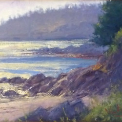 Original oil painting by George Van Hook will be featured at Aldermere Farm's Art Show & Sale.