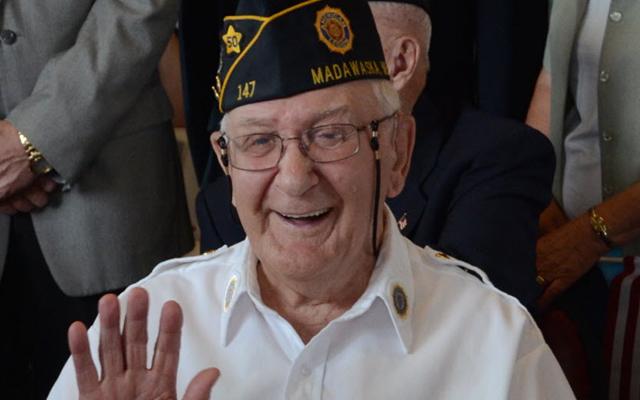Tribute to World War II veterans at Madawaska