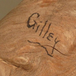 The signature of master carver, Wendell Gilley