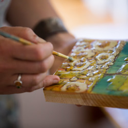 Sunday One-Day Workshop: Encaustic Wax Techniques