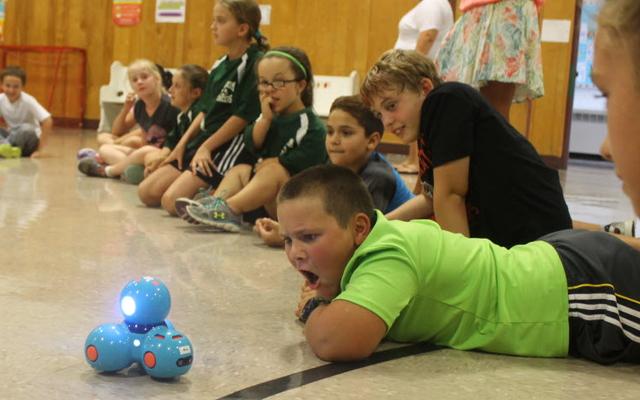 Young Lego fans learn robotics at Bangor camp