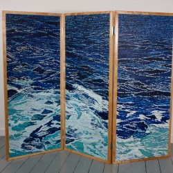 Screen 1 acrylic/wood panels  60x72 (front and back)