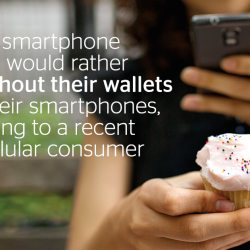 Mobile wallets offer safety and convenience.