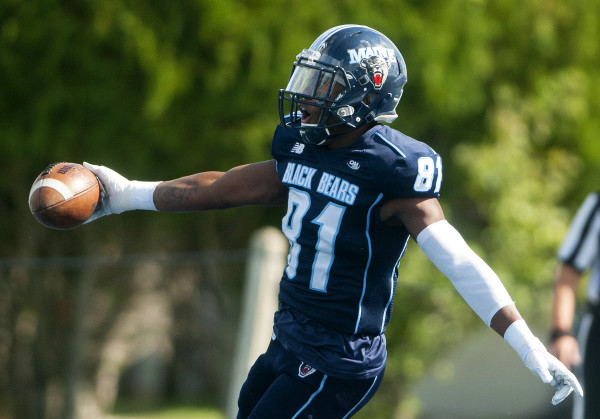The University of Maine football team goes after its first victory of the season on Saturday afternoon when the Black Bears battle Bryant University in a 3:30 p.m. game at Alfond Stadium in Orono.