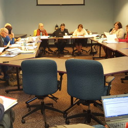 The Maine Charter School Commission weighs applications to open new schools in 2016 during a meeting in Augusta  in this November 2015 file photo.