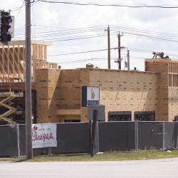A Chick-Fil-A restaurant under construction near the Bangor Mall in Bangor.