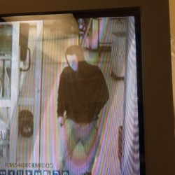 Police are searching for a man who robbed Ocean State Job Lot on Tuesday.