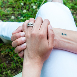 The semicolon represents hope for those struggling with a mental health condition.