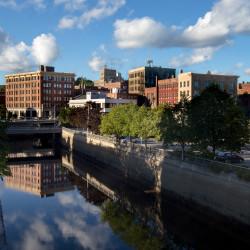 Downtown Bangor seen Sept. 2, 2015.