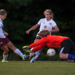 Bangor girls soccer surges by Hampden in second half