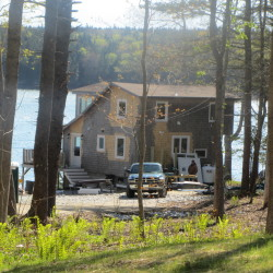 This waterfront property in Owls Head, that was valued by the town at nearly $500,000, was sold by the state for $205,000 while its owner was in a psychiatric hospital