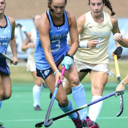Kristy Bernatchez of Belgrade competes for the University of North Carolina in this photo. The former Messalonskee High School star will make a rare competitive return to Maine on Sunday when the top-ranked Tar Heels play the University of Maine in Orono.