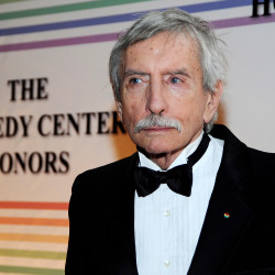 Edward Albee arrives on the red carpet for the Kennedy Center Honors at the Kennedy Center in Washington, D.C., Dec. 5, 2010.
